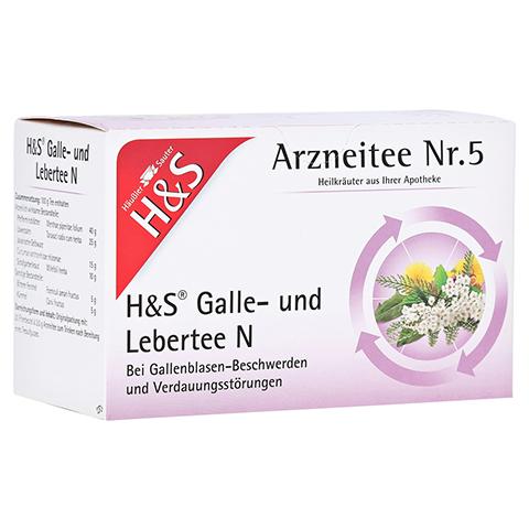 H&S Galle- und Lebertee N Filterbeutel 20 Stück