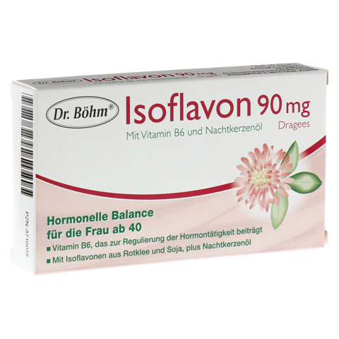 DR.BÖHM Isoflavon 90 mg Dragees 30 Stück