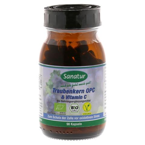 OPC Traubenkern & Vitamin C Kapseln 90 Stück
