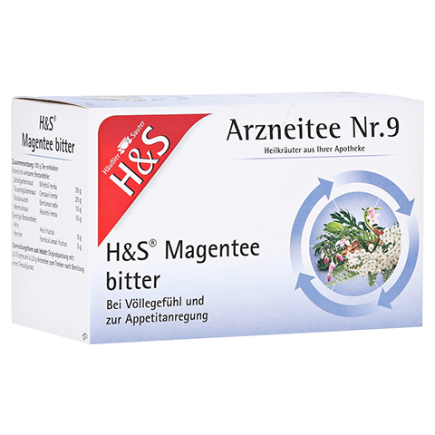 H&S Magentee Filterbeutel 20 Stück