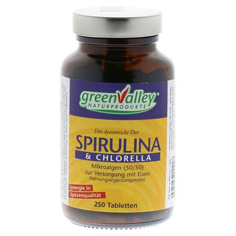 SPIRULINA+CHLORELLA Earthrise Tabletten 250 Stück