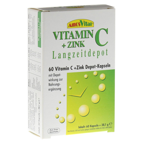 VITAMIN C+Zink Depot Kapseln 60 Stück