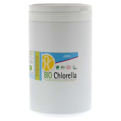 CHLORELLA 500 mg Bio Naturland Tabletten 2000 Stück