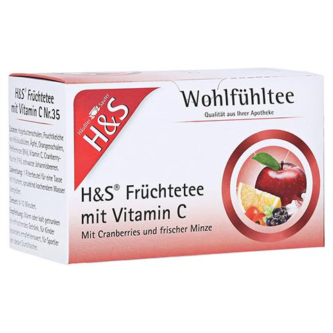 H&S Früchte mit Vitamin C Filterbeutel 20 Stück