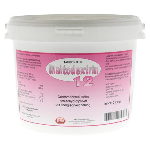 MALTODEXTRIN 12 Lamperts Pulver 2500 Gramm