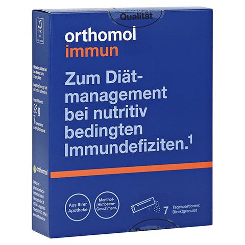 Orthomol Immun Direktgranulat Menthol-Himbeere 7 Stück