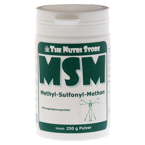 MSM 100% rein Methyl Sulfonyl Methan Pulver 250 Gramm
