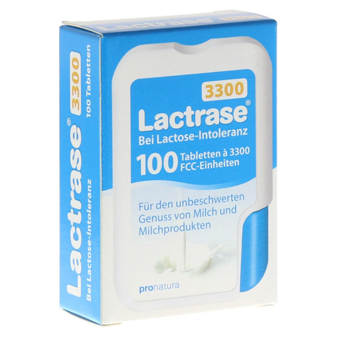 LACTRASE 3.300 FCC Tabletten im Klickspender 100 Stück