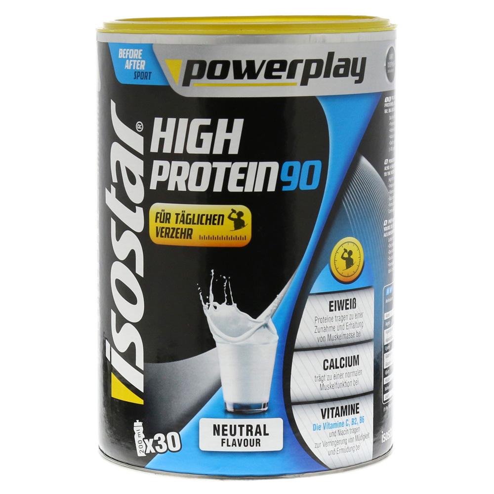 isostar powerplay high protein 90 neutral pulver 750 gramm. Black Bedroom Furniture Sets. Home Design Ideas