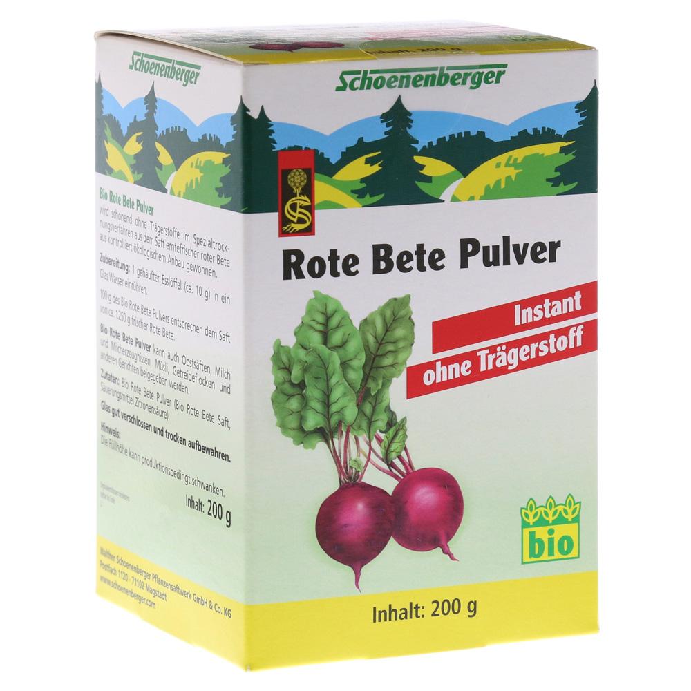Rote Bete Pulver Instant Schoenenberger 200 Gramm Online Bestellen