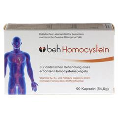 BEH Homocystein Kapseln 90 Stück - Vorderseite