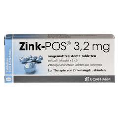Zink-POS 3,2mg 20 Stück N1 - Vorderseite