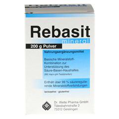 REBASIT Mineral Pulver 200 Gramm - Vorderseite