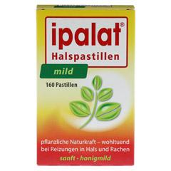 IPALAT Halspastillen mild 160 Stück - Vorderseite