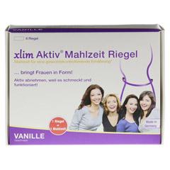 XLIM Aktiv Mahlzeit Riegel Vanille 6x75 Gramm - Vorderseite