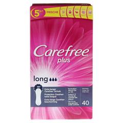 CAREFREE long plus Slipeinlagen 40 Stück - Vorderseite
