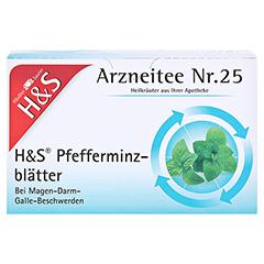 H&S Pfefferminzblätter 20 Stück - Vorderseite