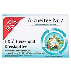 H&S Herz-und Kreislauftee 20 Stück - Vorderseite