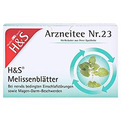 H&S Melissenblätter 20 Stück - Vorderseite