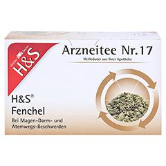 H&S Fencheltee ungemischt Filterbeutel 20 Stück - Vorderseite