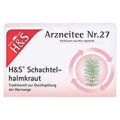 H&S Schachtelhalmkraut Filterbeutel 20 Stück - Vorderseite