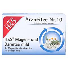 H&S Magen- und Darmtee mild 20 Stück - Vorderseite