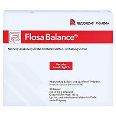 FLOSA Balance Pulver Beutel 30x5.5 Gramm - Vorderseite