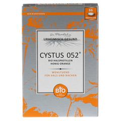 CYSTUS 052 Bio Halspastillen Honig Orange 66 Stück - Vorderseite