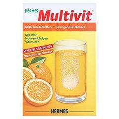 HERMES Multivit Brausetabletten 60 Stück - Vorderseite