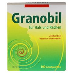 GRANOBIL Grandel Pastillen 100 Stück - Vorderseite