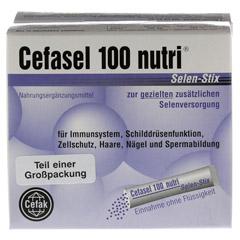 CEFASEL 100 nutri Selen Stix Pellets 40 Stück - Vorderseite