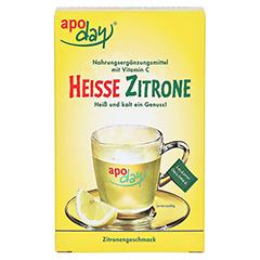 APODAY heiße Zitrone Vit.C Pulver 10x10 Gramm - Vorderseite