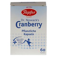 TÖPFER Dr.Nowacks Cranberry Kapseln 60 Stück - Vorderseite