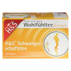 H&S Wohlfühltee feminin Schwangerschaftstee Fbtl. 20 Stück - Vorderseite