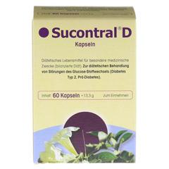 SUCONTRAL D Diabetiker Kapseln 60 Stück - Vorderseite