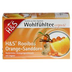 H&S Rooibos Orange Sanddorn Filterbeutel 20 Stück - Vorderseite