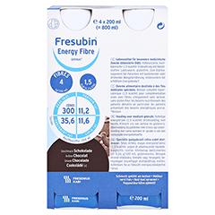 FRESUBIN ENERGY Fibre DRINK Schokolade Trinkfl. 6x4x200 Milliliter - Vorderseite