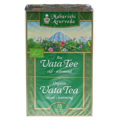 Vata Tee Filterbeutel 18 Gramm - Vorderseite