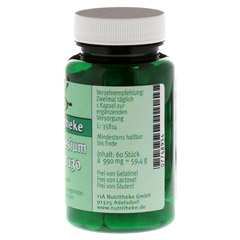 MAGNESIUMCITRAT 130 mg Magnesium Kapseln 60 Stück - Vorderseite