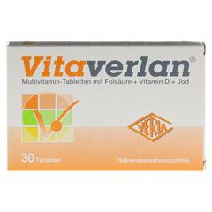 VITAVERLAN Tabletten 30 Stück - Vorderseite