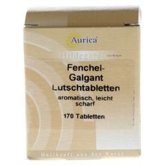 FENCHEL-GALGANT-Lutschtabletten Aurica 170 Stück - Vorderseite