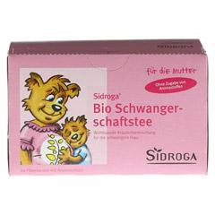 SIDROGA Bio Schwangerschaftstee Filterbeutel 20x1.5 Gramm - Vorderseite