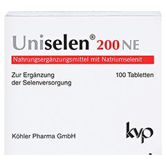 UNISELEN 200 NE Tabletten 100 Stück - Vorderseite
