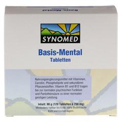 BASIS MENTAL Tabletten 120 Stück - Vorderseite