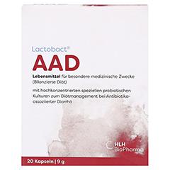 LACTOBACT AAD magensaftresistente Kapseln 20 Stück - Vorderseite