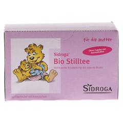 SIDROGA Bio Stilltee Filterbeutel 20x1.5 Gramm - Vorderseite