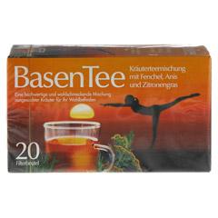 Basentee Filterbeutel 20 Stück - Vorderseite
