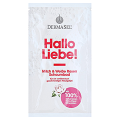 DERMASEL Totes Meer Schaumbad Hallo Liebe 40 Milliliter