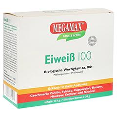 Eiweiss 100 Mix Kombi Megamax Pulver 7x30 Gramm