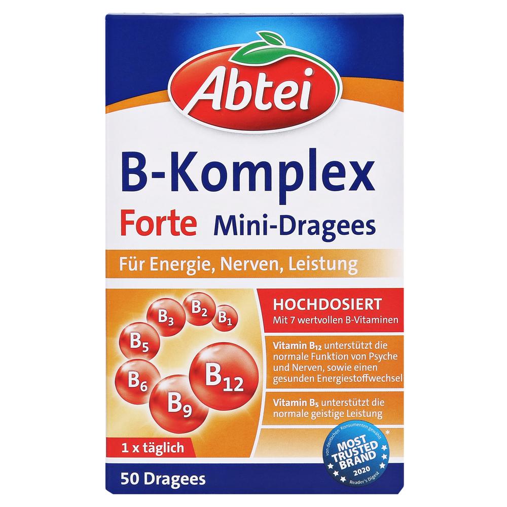 Erfahrungen zu ABTEI Vitamin B Komplex (Forte) 50 Stück